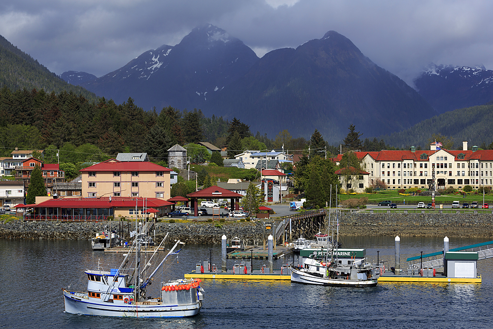 Sitka Harbor, Sitka, Alaska, USA