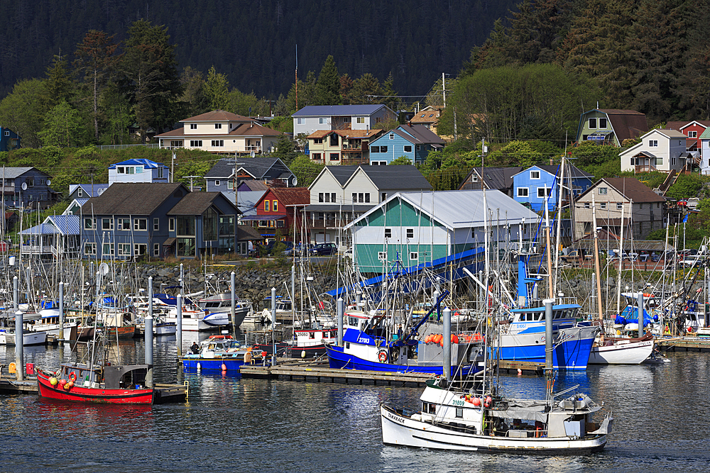 Sitka Harbor, Sitka, Alaska, United States of America, North America