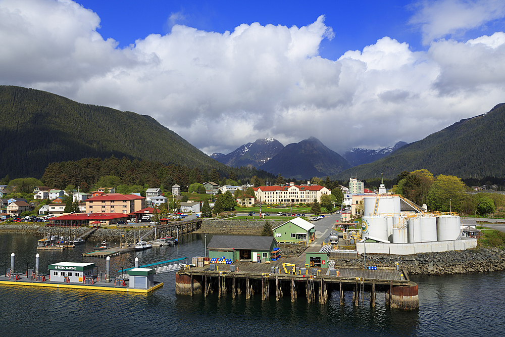 Marine Fuel Depot, Sitka Harbor, Sitka, Alaska, United States of America, North America