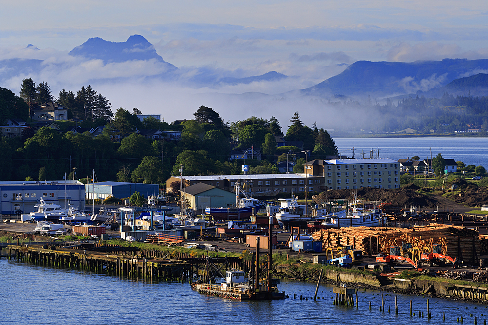 Port of Astoria, Astoria, Oregon, United States of America, North America