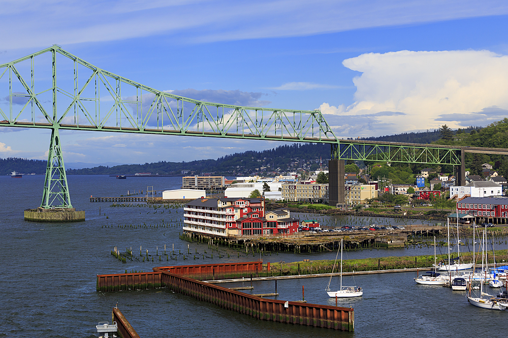 Astoria Bridge, Astoria, Oregon, United States of America, North America