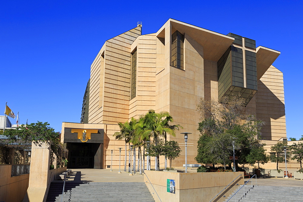 Cathedral of Our Lady of the Angels, Los Angeles, California, USA - 776-5690