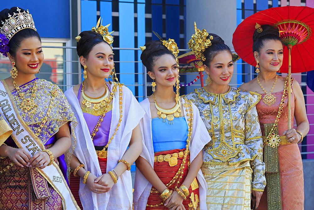Golden Dragon Parade, Chinatown, Los Angeles, California, USA