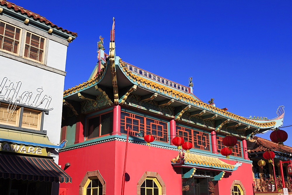 Central Plaza, Chinatown, Los Angeles, California, USA