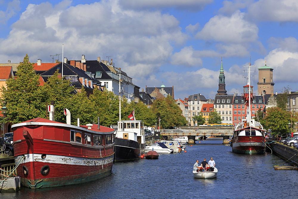 Frederiksholms Canal, Copenhagen, Zealand, Denmark, Scandinavia, Europe