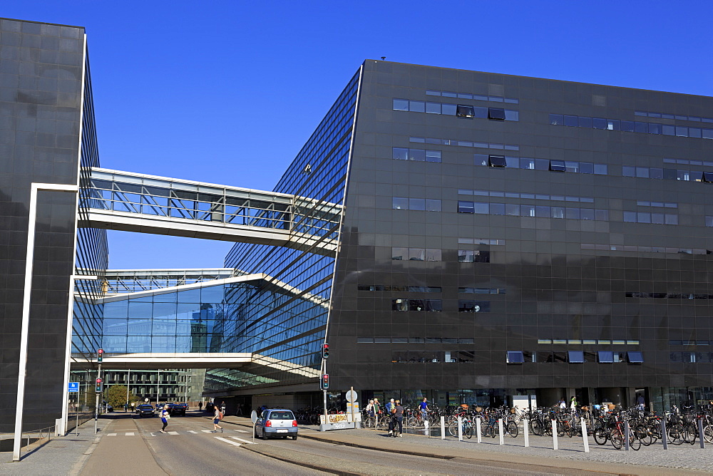 The Royal Library, Copenhagen, Zealand, Denmark, Scandinavia, Europe