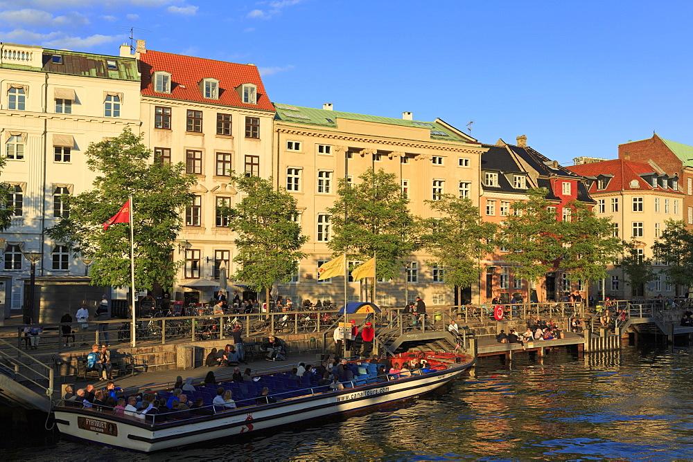 Architecture on Ved Stranden, Copenhagen, Zealand, Denmark, Scandinavia, Europe