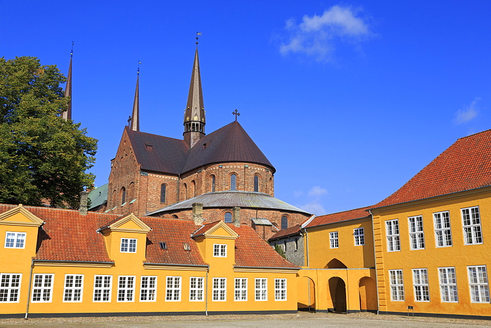 Roskilde Palace & Cathedral, Zealand, Denmark, Europe