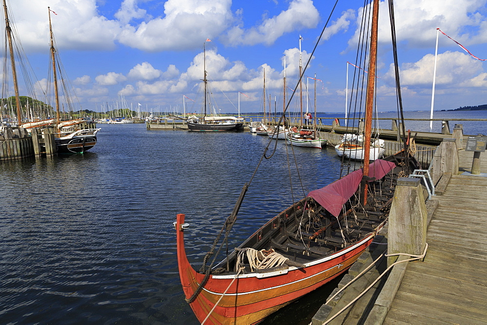 Viking Ship Museum, Roskilde, Zealand, Denmark, Scandinavia, Europe