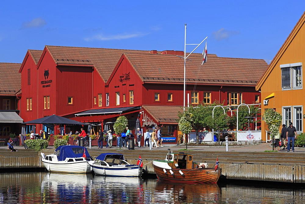 Fish Market, Kristiansand, Norway, Europe