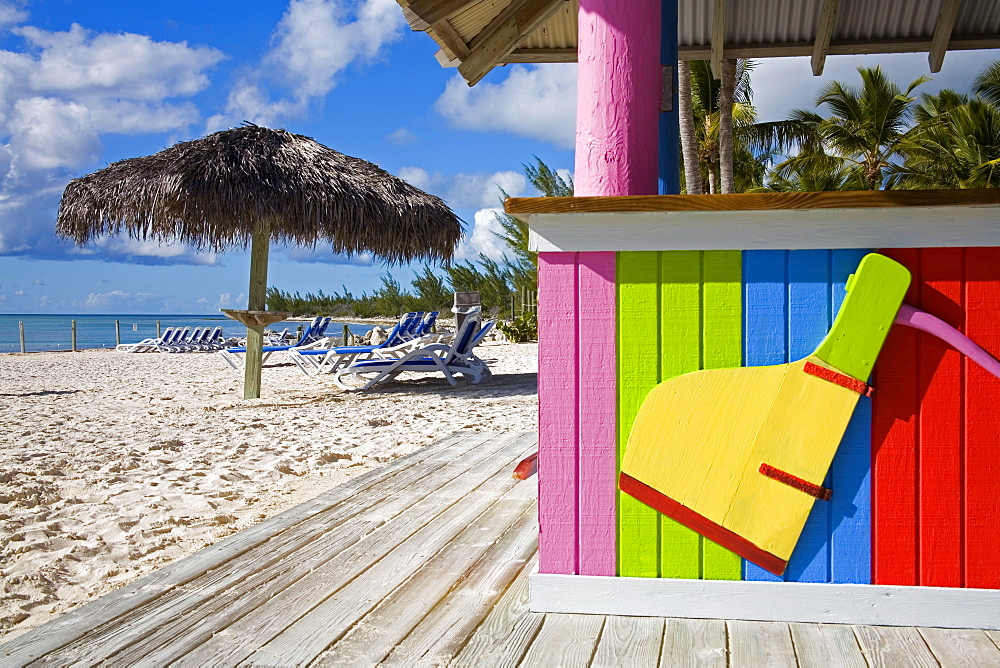 Bar detail, Princess Cays, Eleuthera Island, Bahamas, Greater Antilles, West Indies, Caribbean, Central America - 776-6