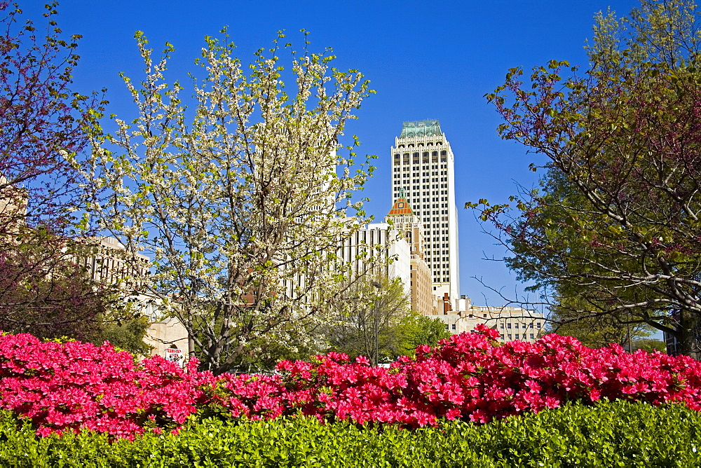 Downtown Tulsa, Oklahoma, United States of America, North America