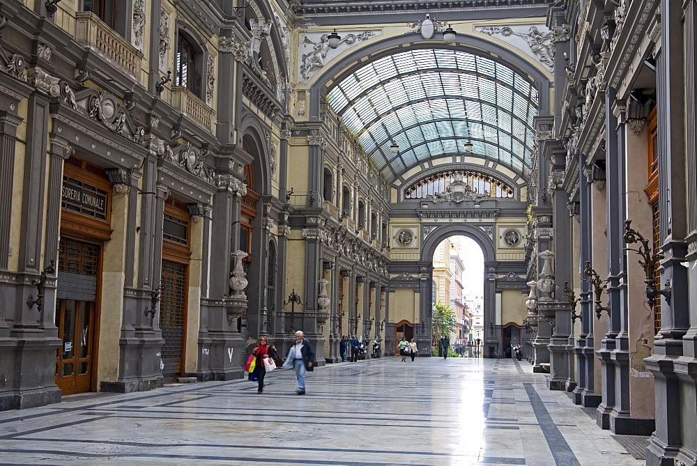 Galleria Principe di Napoli, Naples, Campania, Italy, Europe - 776-793