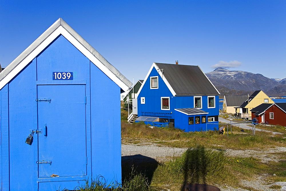 Port of Nanortalik, Island of Qoornoq, Province of Kitaa, Southern Greenland, Kingdom of Denmark, Polar Regions