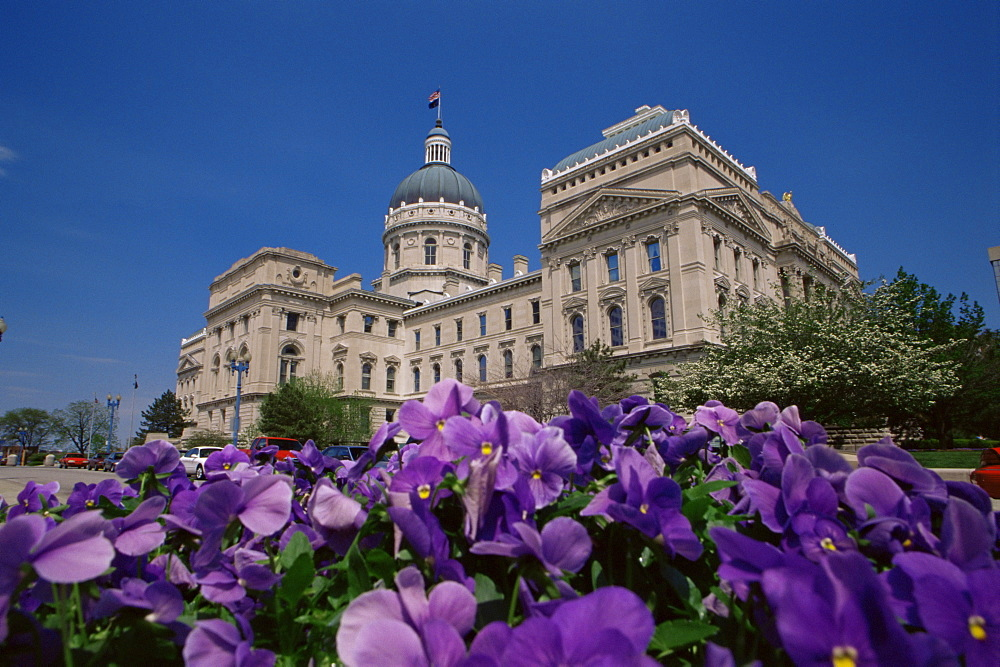 State Capitol Building, Indianapolis, Indiana, United States of America, North America
