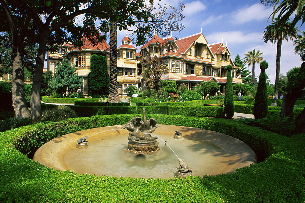 Historic Winchester House, San Jose, California, United States of America, North America