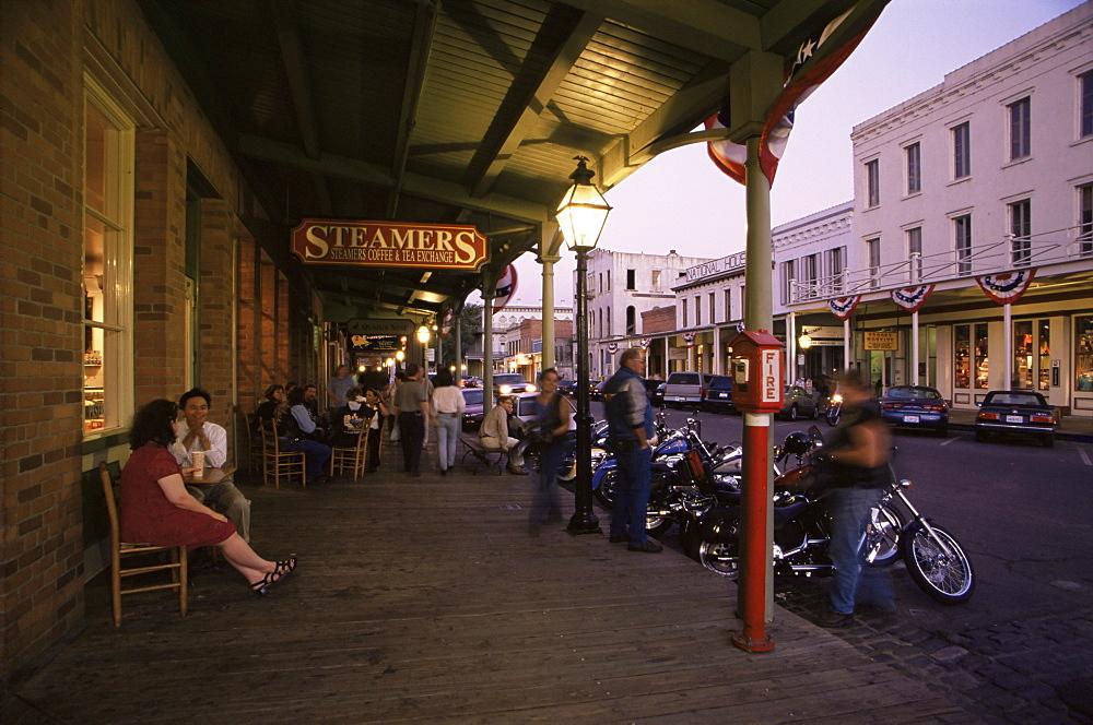 Old Town, Sacramento, California, United States of America, North America