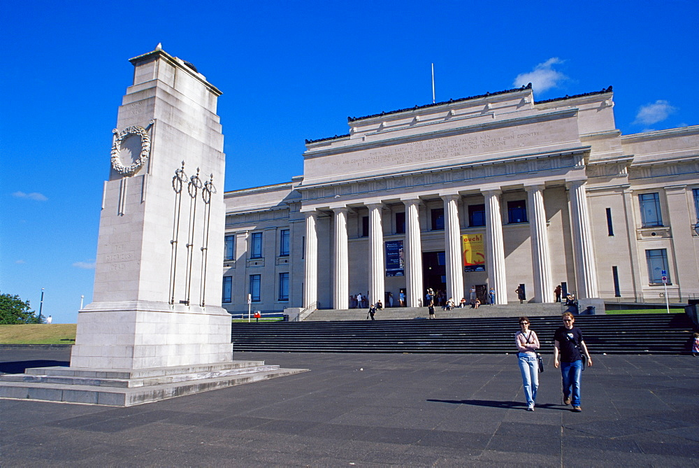 War Memorial and Museum, Auckland Domain, Auckland, North Island, New Zealand, Pacific