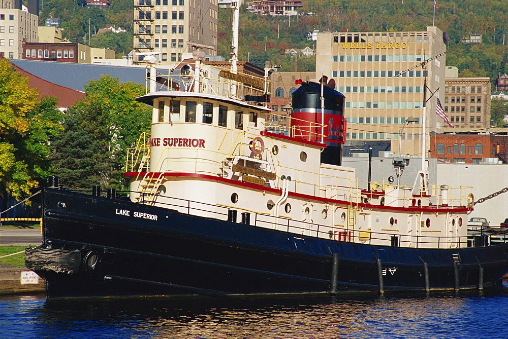 Lake Superior Tug Boat Museum, Duluth Harbor, Minnesota, United States of America, North America