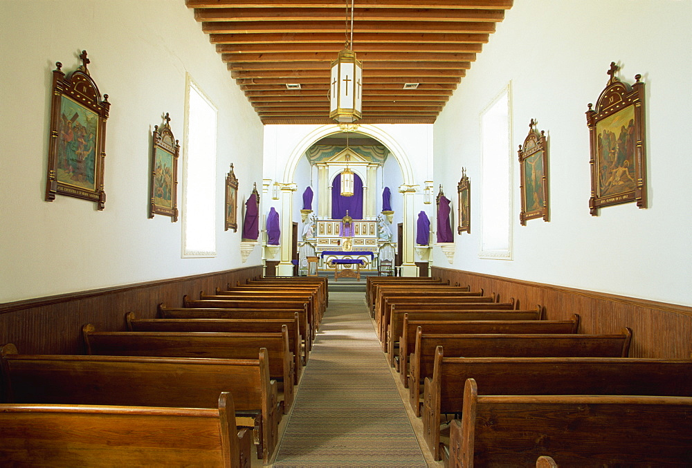 Ysleta Mission, El Paso, Texas, United States of America, North America