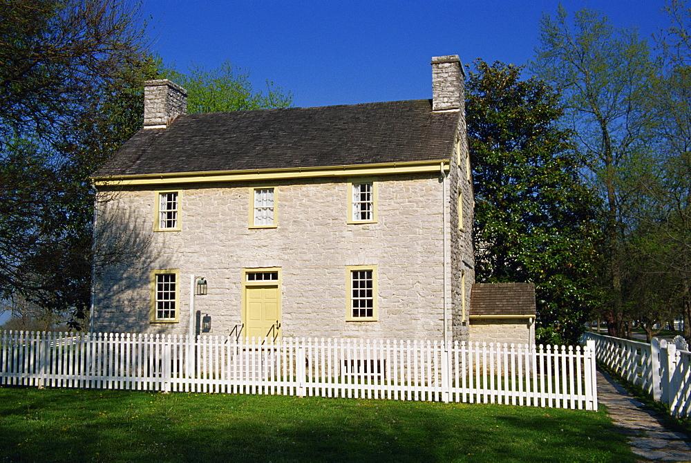 Deacon's shop, Shaker village of Pleasant Hill, Lexington area, Kentucky, United States of America, North America