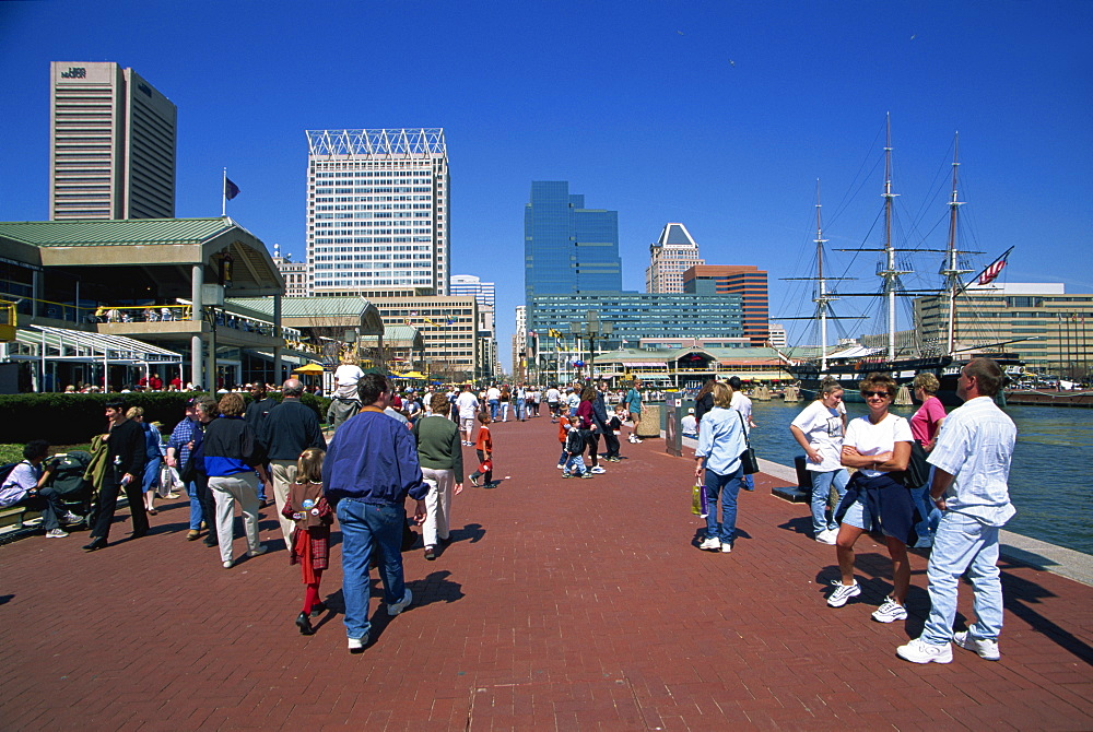 Inner Harbor, Baltimore, Maryland, United States of America, North America
