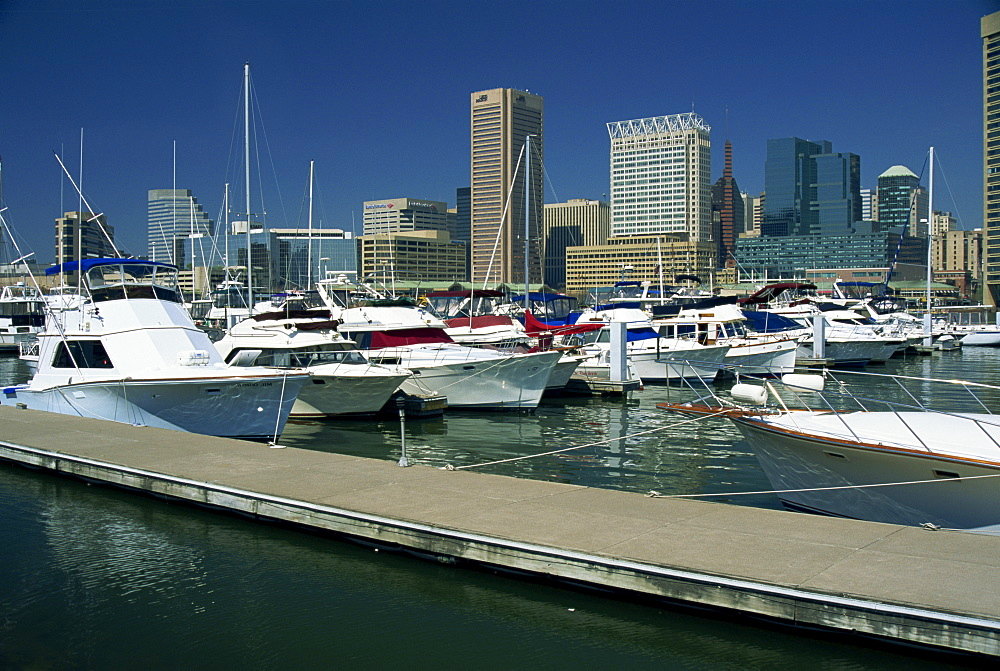 Inner Harbor, Baltimore, Maryland, United States of America, North America