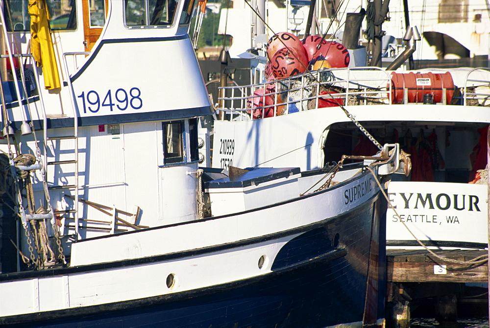 Fisherman's Terminal, Salmon Bay, Seattle, Washington state, United States of America, North America