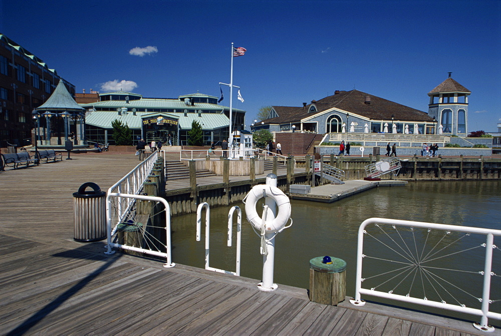 Marina, Old Town, Alexandria, Virginia, United States of America, North America