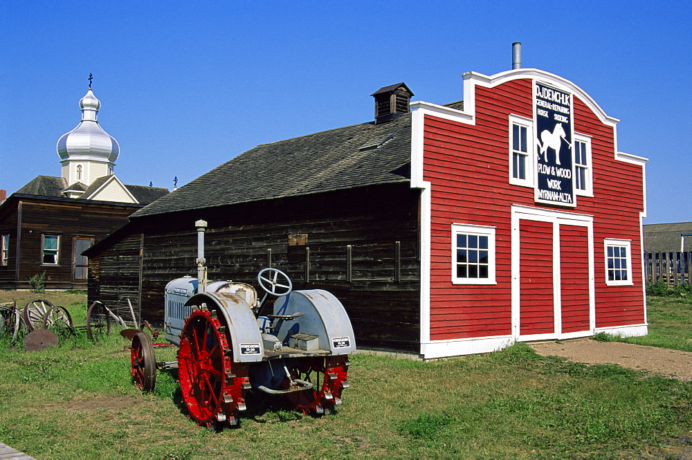 Ukrainian Heritage Village, Greater Edmonton area, Alberta, Canada, North America