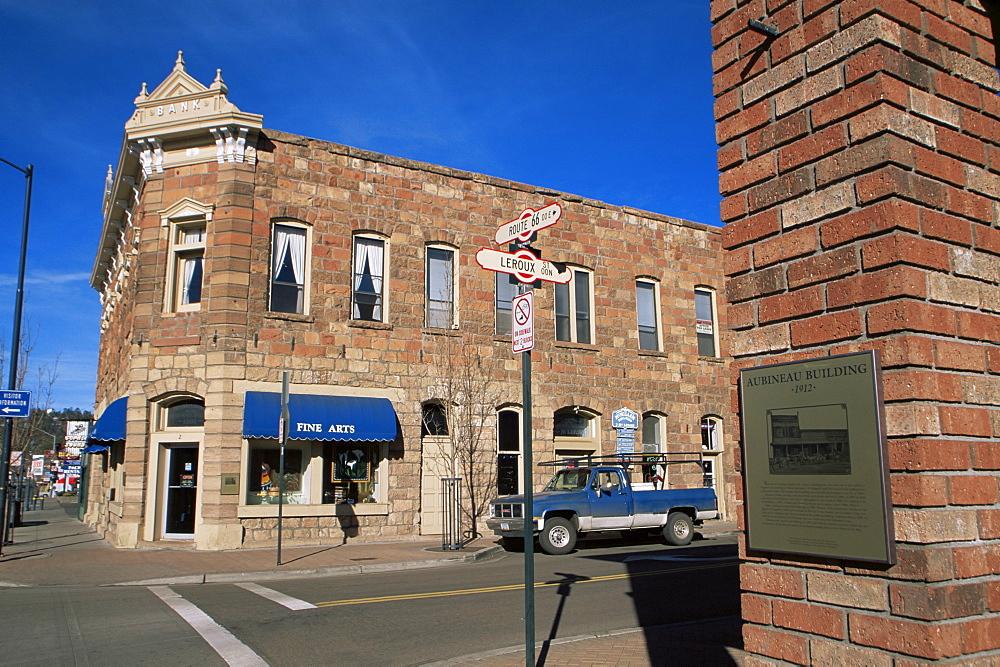 Historic old town, Flagstaff, Arizona, United States of America, North America