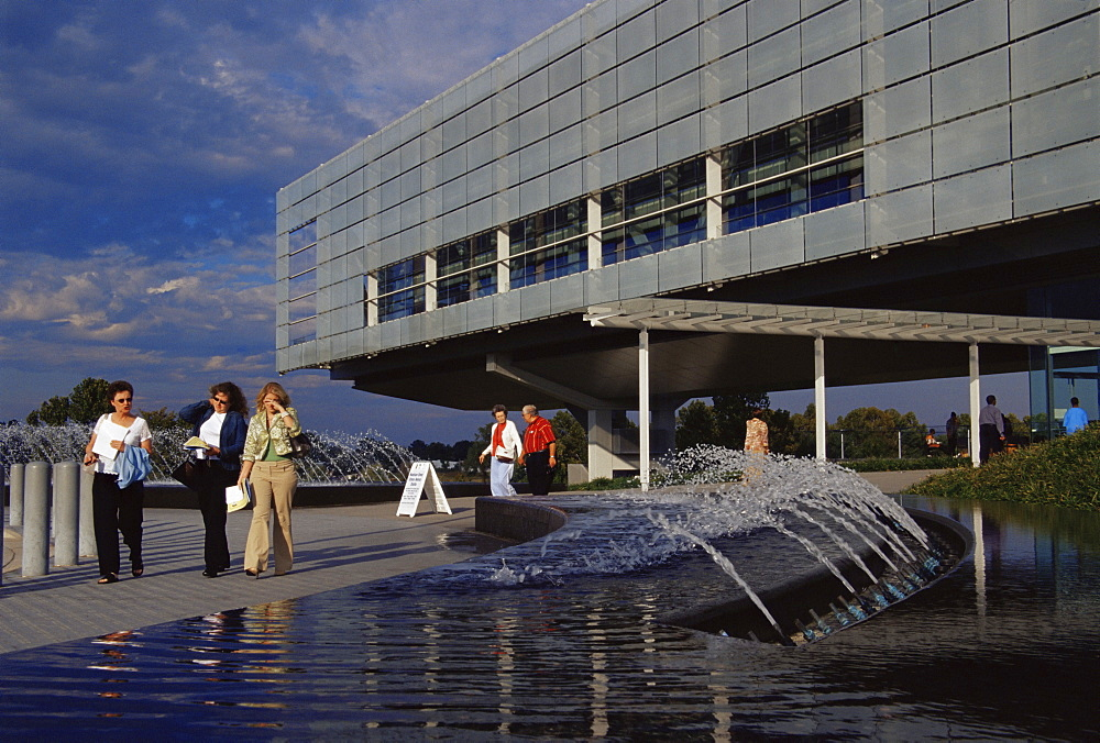 Clinton Presidential Library and Museum, Little Rock, Arkansas, United States of America, North America