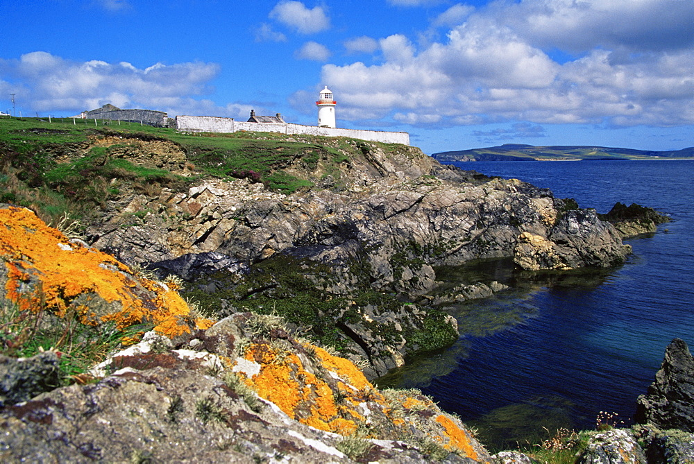 Broadhaven lighthouse, Belmullet, County Mayo, Connacht, Republic of Ireland, Europe