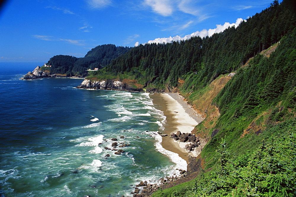 Heceta Head State Beach, Oregon coast, Oregon, United States of America, North America