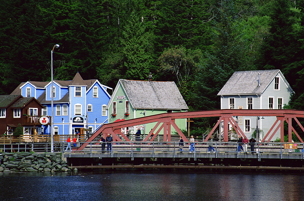 Creek Street, Ketchikan, Alaska, United States of America, North America
