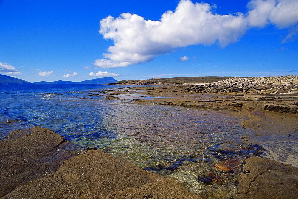 Blacksod coastline, County Mayo, Connacht, Republic of Ireland, Europe