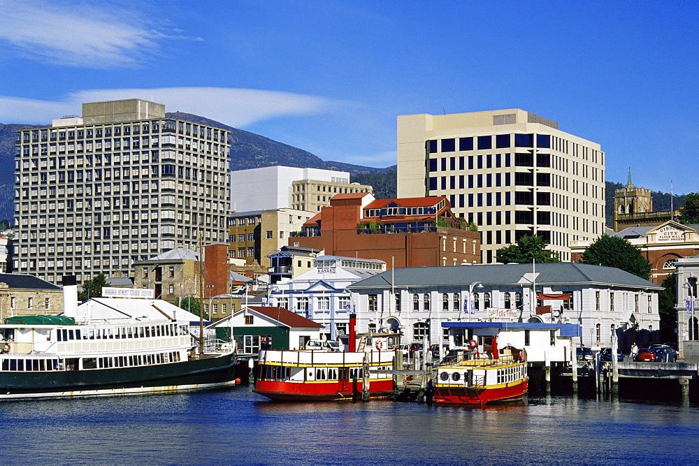 Ferry terminal, Hobart Docks, Tasmania, Australia, Pacific