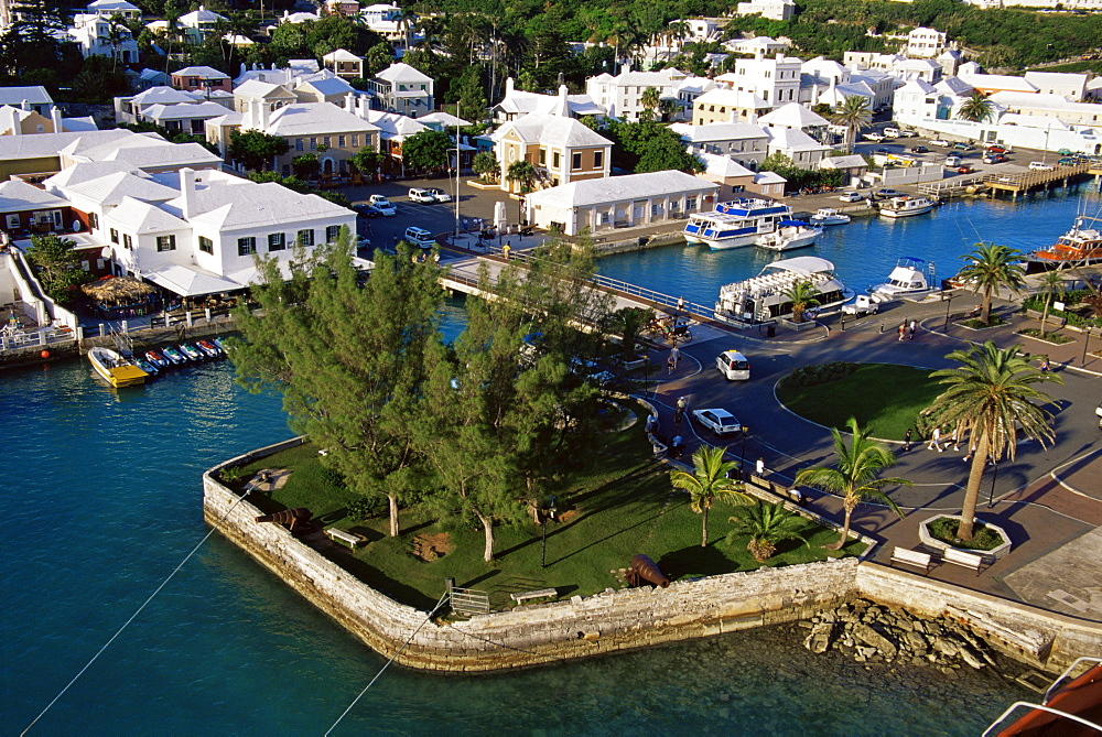Ordnance Island, town of St. George, Bermuda, Central America