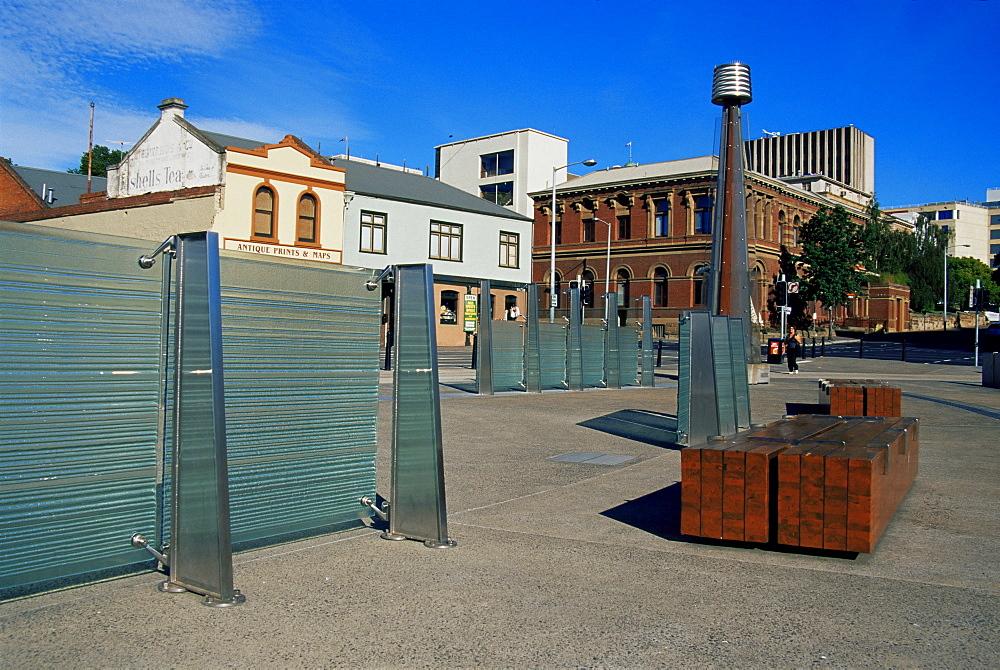 Mawson Place, Hobart, Tasmania, Australia, Pacific