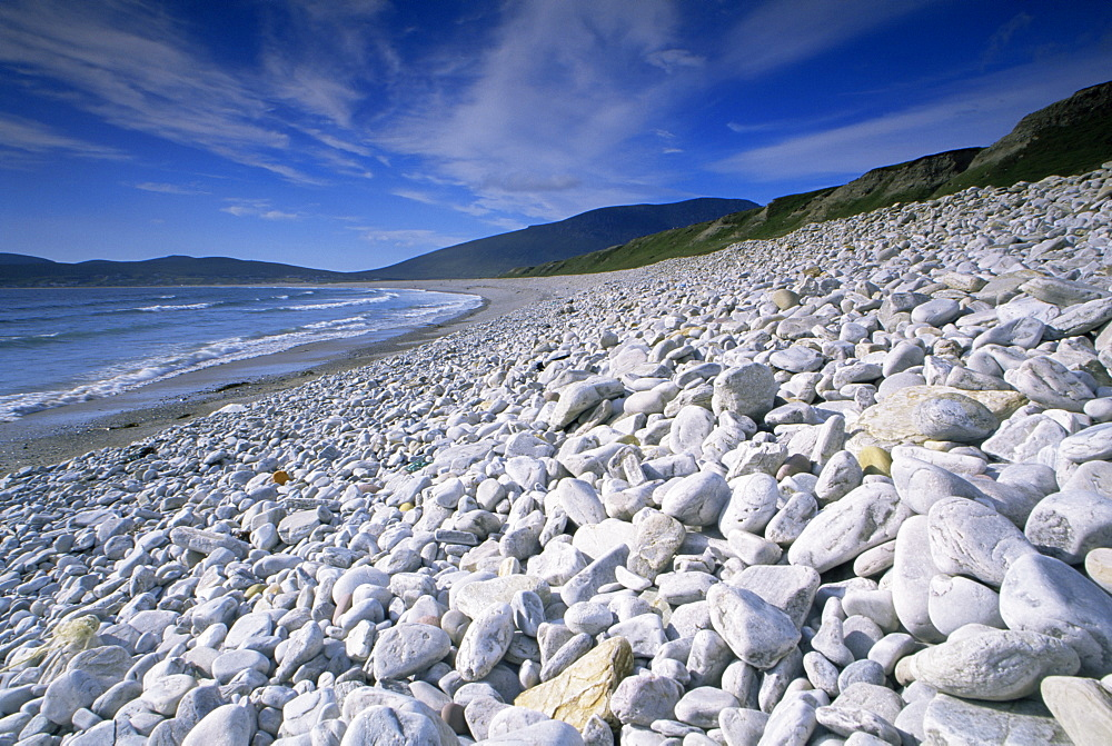 Trawmore Beach, Keel, Achill Island, County Mayo, Connacht, Republic of Ireland, Europe