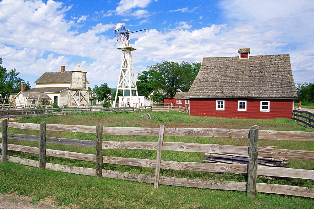 Farm, Stuhr Museum of the Prairie Pioneer, Grand Island, Nebraska, United States of America, North America