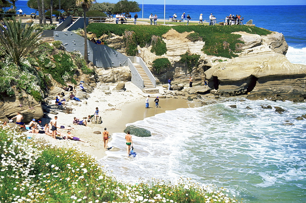 La Jolla Cove, San Diego, California, United States of America, North America