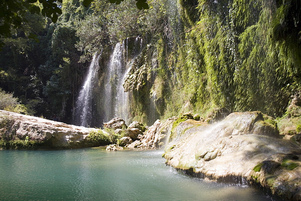 Kursunlu Waterfall, Kursunlu National Park, Antalya Region, Anatolia, Turkey, Asia Minor, Eurasia - 783-104