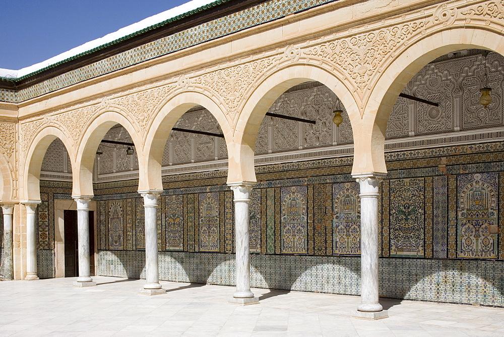 Mosque at Kairouan, Tunisia, North Africa, Africa - 783-11