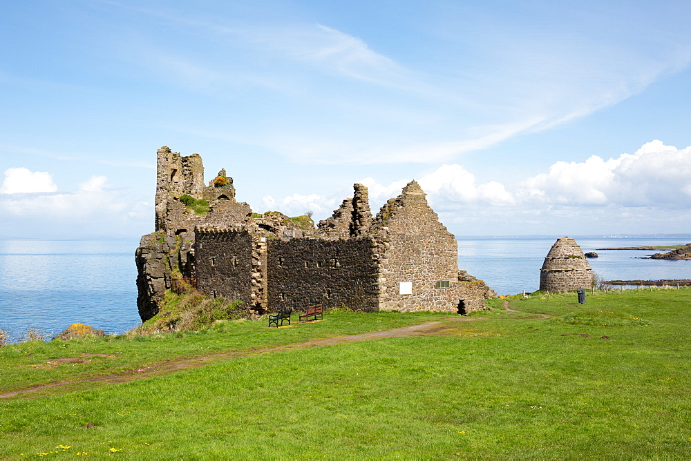 Dunure Castle, South Ayrshire, Scotland, United Kingdom, Europe - 783-138