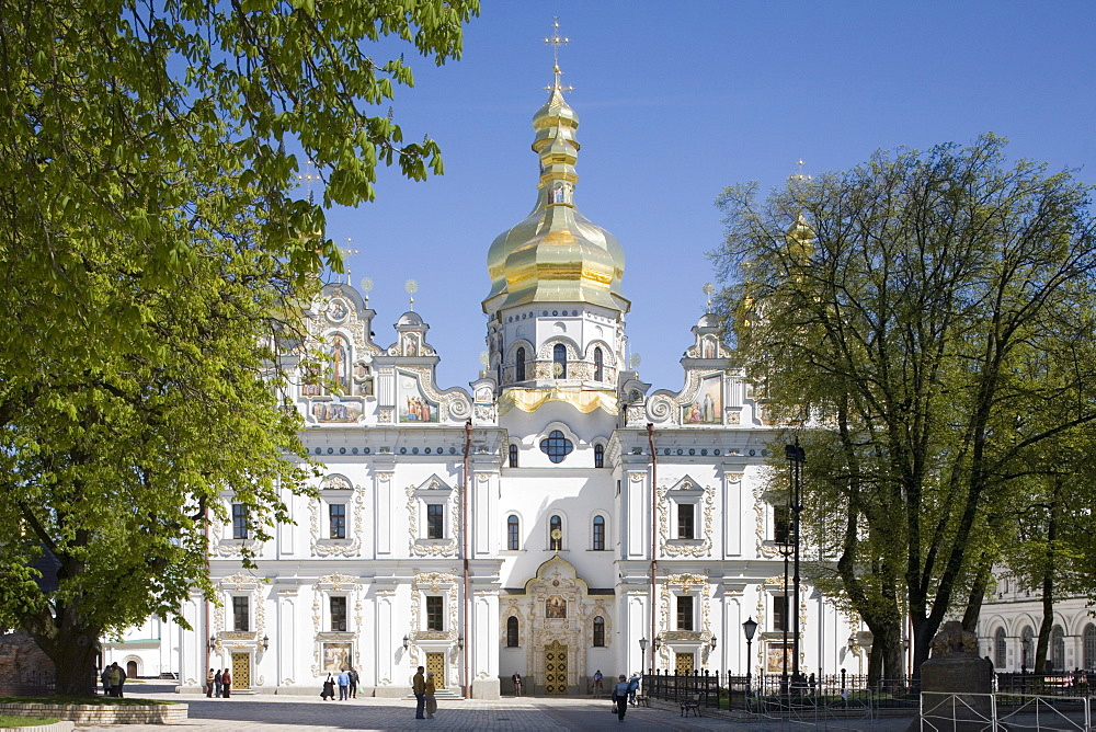 Uspensky Cathedral, Upper Lavra, Pechersk Lavra, Kiev, Ukraine, Europe - 783-41
