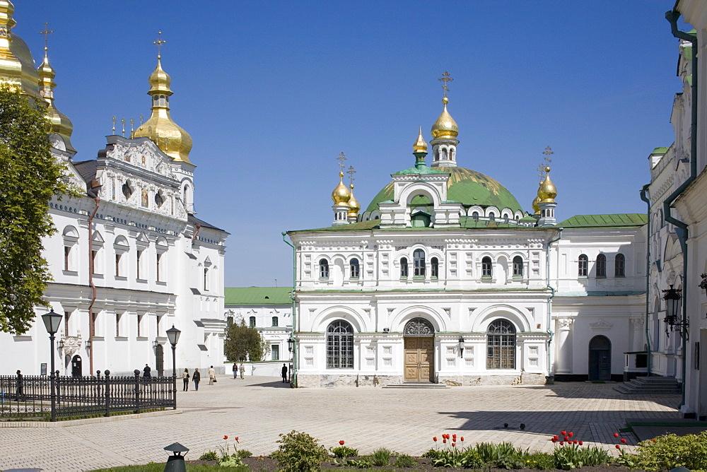 Uspensky Cathedral, Upper Lavra, Pechersk Lavra, Kiev, Ukraine, Europe - 783-45