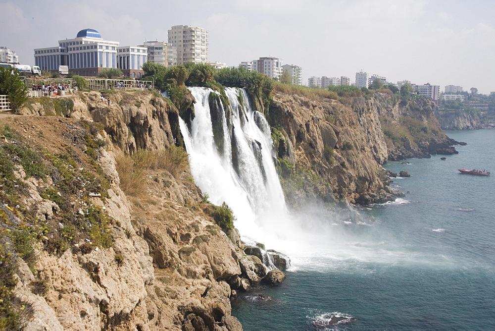 Waterfall, Duden Stream, Antalya, Anatolia, Turkey, Asia Minor, Eurasia - 783-61