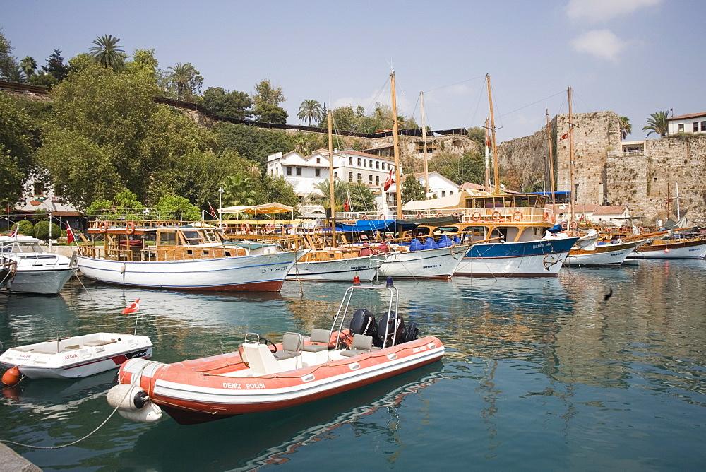 Old Harbour, Antalya, Anatolia, Turkey, Asia Minor, Eurasia - 783-65