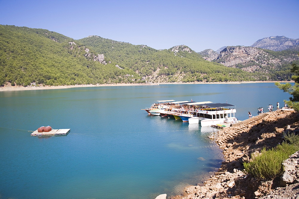 Green Canyon, Oymapinar Lake, Manavgat, Antalya region, Anatolia, Turkey, Asia Minor, Eurasia - 783-85